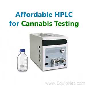 Cannabis HPLC Analyzer NEW with software and reporting system, autosampler available; easy to use