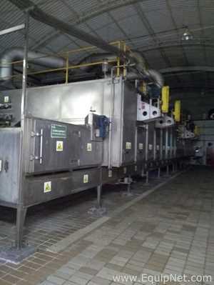 Buhler Aeroroast Continuous Tray Dryer