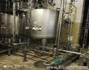 Inoxil Stainless Steel 1500 Liter Vertical Tank