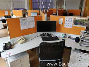 Lot of Office Work Stations