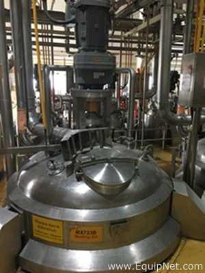 Mixing tank (5 ton [1 unit] and 3 ton [4 units]