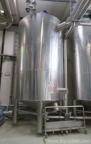 Behalter 15000L Stainless Steel Jacketed Mixing Kettle with Nord Drivesystems SK Agitator-Production