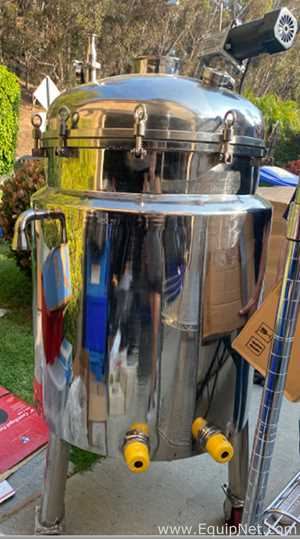 150 Liter Stainless Steel Jacketed Reactor