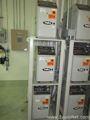 Three Sterling Engineering Company M2B2010-G 9KW Temperature Control Units