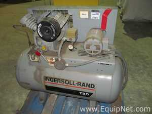 Ingersoll-Rand T30 Horizontal Air Compressor with Baldor Industrial Motor