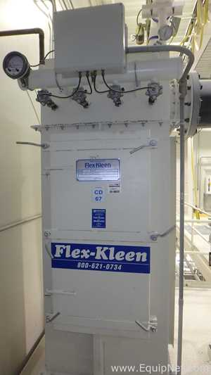 Flex Kleen 32 54 PVBL 16W Bag Filter With Rotary Valve Discharge