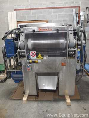Binacchi BRMV-3/350/600 Three Roll Mill For Soap Refining