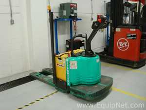 Mitsubishi PMWR30  Battery Operated Pallet Jack for Stand Up Man on Board