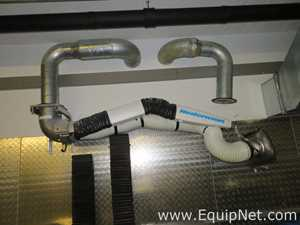 Nederman Fume Extraction Arm with Hood Damper