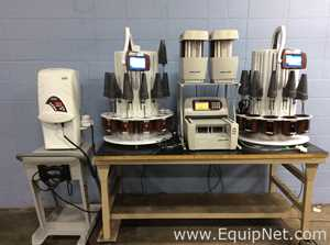 Lot of 2 Distek Symphony 7100 Dissolution Systems with Ez-Fill 4500 2 Syringe Pumps and Autosampler