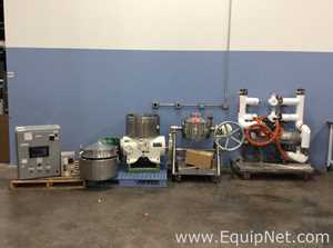 GEA BKA 28 86 076 Centrifuge With Cooling and Cleaning Skids