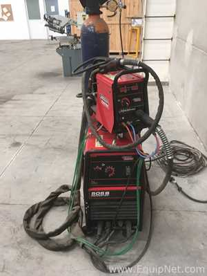 Lincoln Powertec 505S Seperate MIG and Flux-Cored Welder with Lf24M Wire Feed