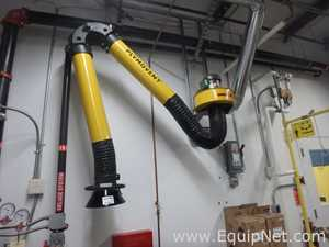 Plymovent KUA-3 Dust - Fume Flexible Extraction Arm with Fan