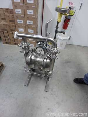 Stainless Steel Murzan PI-50S-LIB Pneumatic Double Diaphragm Pump