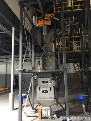 Unused Spiroflow Systems Inc T6 Bulk Bag Handling System with 2 Ton Electric Hoist