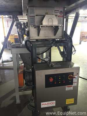 Unused Blending Dosing System Marion 30 Cubic Foot Blender and K Tron Loss In Weight Feeders