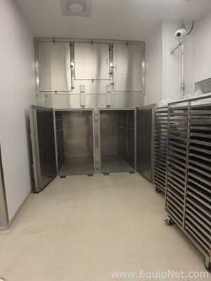 Gruenberg Single Sided Double Door Solvent Rated Granulation Drying Oven - Suite 134