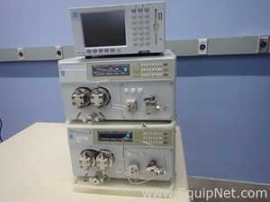 Dionex HPLC with SCL-10AVP Controller and Two PP150 Preparative Pumps