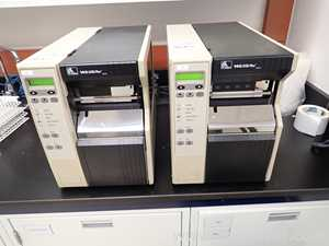 Lot of 3 Zebra Technologies Label Printers