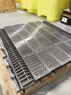Lot of 25 Zurn Stainless Steel Drainage Grates