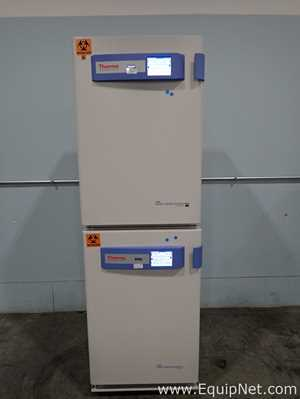Thermo Fisher 4110 Forma Series 3 Double Stack Water Jacketed CO2 Incubators