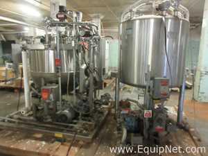 Reator de Aço Inoxidável aço inox Lee Industries, Inc. 125D94S.  125 Galão