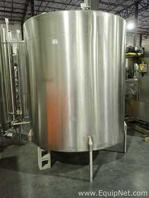 Crepaco Approx 1500 Gallon Stainless Steel Tank 12