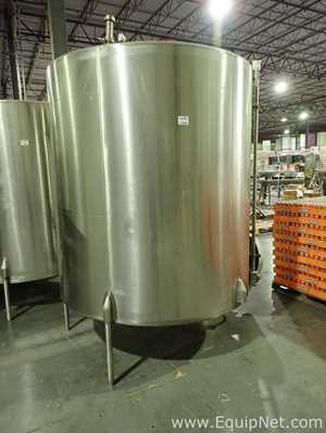 Crepaco Approx 1500 Gallon Stainless Steel Tank 11