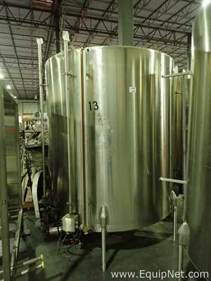 Crepaco Approx 1500 Gallon Stainless Steel Tank 13