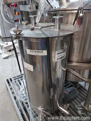 Tanque aço inox Hidratec Procesos  40L