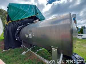 Master Stainless Steel Horizontal 10000L Tank