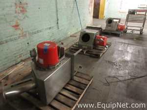 Lot Of Three Siemens Milltronics Process Instruments Inc E-40 Flow Meters