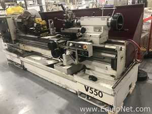 Harrison Group V550 21US Center Lathe With ACU-Rite DRO Max Speed 1800 RMP 2007