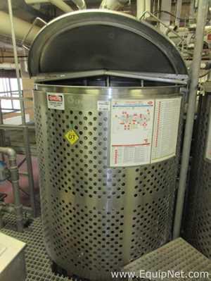 Reator de Aço Inoxidável aço inox Groen EN-356.  356 Galão