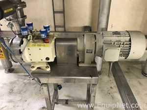 Nakakin VJ0125VT-ZTC Stainless Steel Rotary Positive Displacement Sanitory Lobe Pump