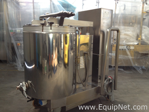 TECNICOLL F100 - JACKETED MIXING TANK