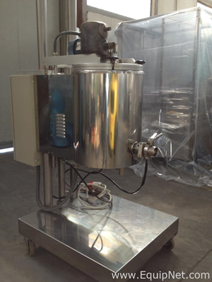 TECNICOLL FC30 - JACKETED MIXING TANK