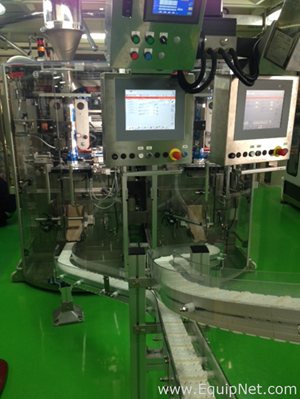 Bosch SVE2520AT Powder Filling Machine With Ishida CG-R202L-16 Head Scale And Packaging System