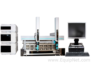 Agilent Technologies 1200 Series PREP HPLC with CTC IFC PAL Liquid Handler