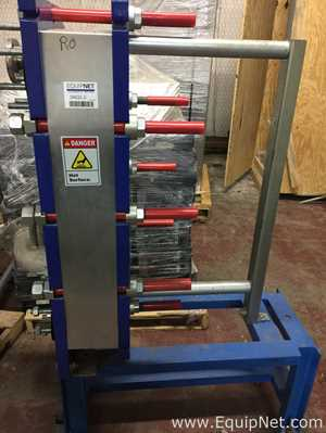 ALFA LAVAL M10 MFG HASTELLOY PLATE AND FRAME HEAT EXCHANGER