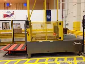 Columbia Machine LTS|C|460V Load Transfer System|Pallet Exchanger