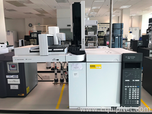 Agilent 7890B Gas Chromatograph with Autoinjector and FID and TCD Detector