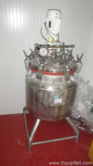 Chemoriens 155 Liter Compound Jacketed Mixing Tank