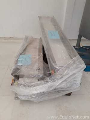 Alfatech Stainless Steel Incline Belt Conveyor