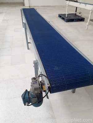 Esteira Transportadora com Estrutura em Aço Carbono e Correia Plastica IMS