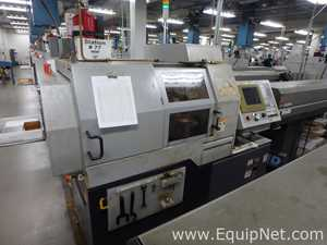 Citizen L20 5M7 CNC machine modified to 16mm with Cool Blaster and Bar feeder Machine 77