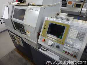 Citizen L20 5M7 CNC machine modified to 16mm with Cool Blaster and Bar feeder Machine 82