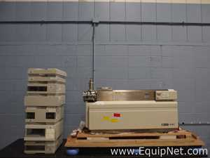 Applied Biosystems MDS Sciex API 4000 LC MS with Agilent 1100 Series HPLC