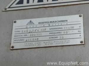 Haas EWB 4 IGF Wafer sticks lines