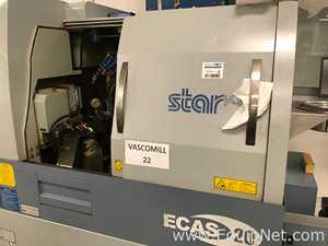 Star Micronics ECAS-20 CNC Swiss Type Automatic Screw Machine with Genius 120 Bar Feeder